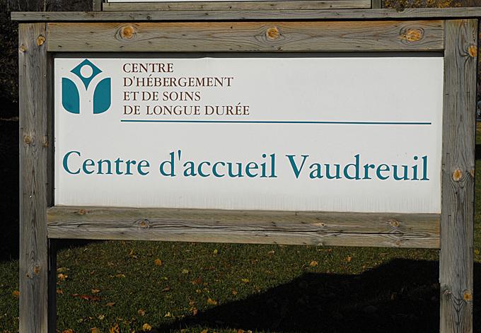 Panneau Centre Accueil Vaudreuil