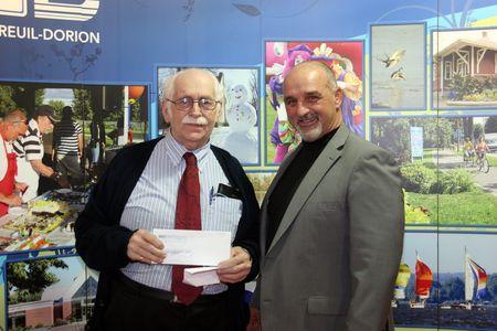 Don de la Ville de Vaudreuil-Dorion à la Fondation du Centre d'Accueil Vaudreuil