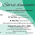 Soirée dansante Fondation du Centre d'accueil Vaudreuil  vendredi 20 octobre 2017