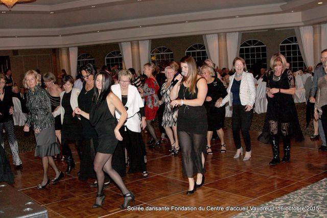 Soirée  dansante 16 octobre 2015 Fondation Centre d'Accueil Vaudreuil