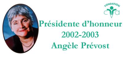 2002 - 2003 Angèle Prévost -1