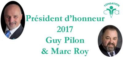 2017 Guy Pilon & Marc Roy